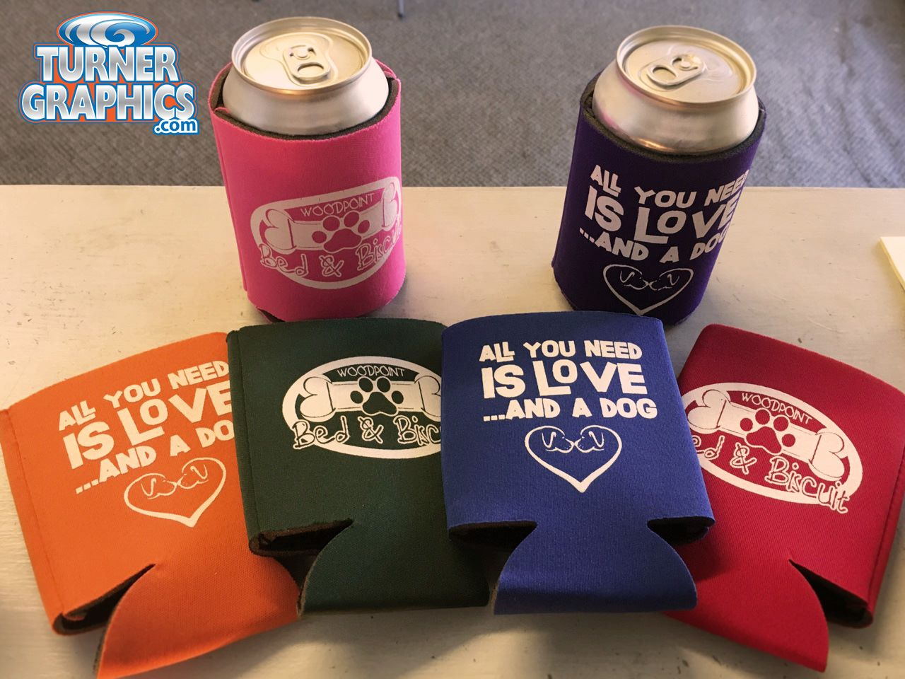 Spartanburg Printed Koozies
