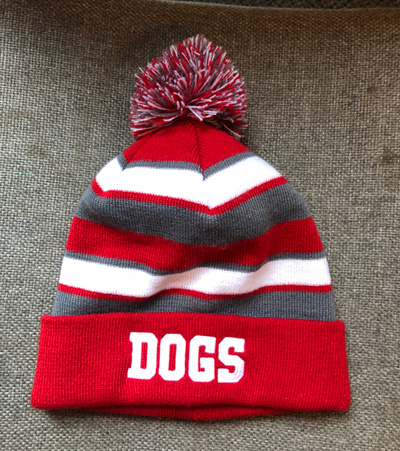 Product Embroidery Dogs Stocking Cap